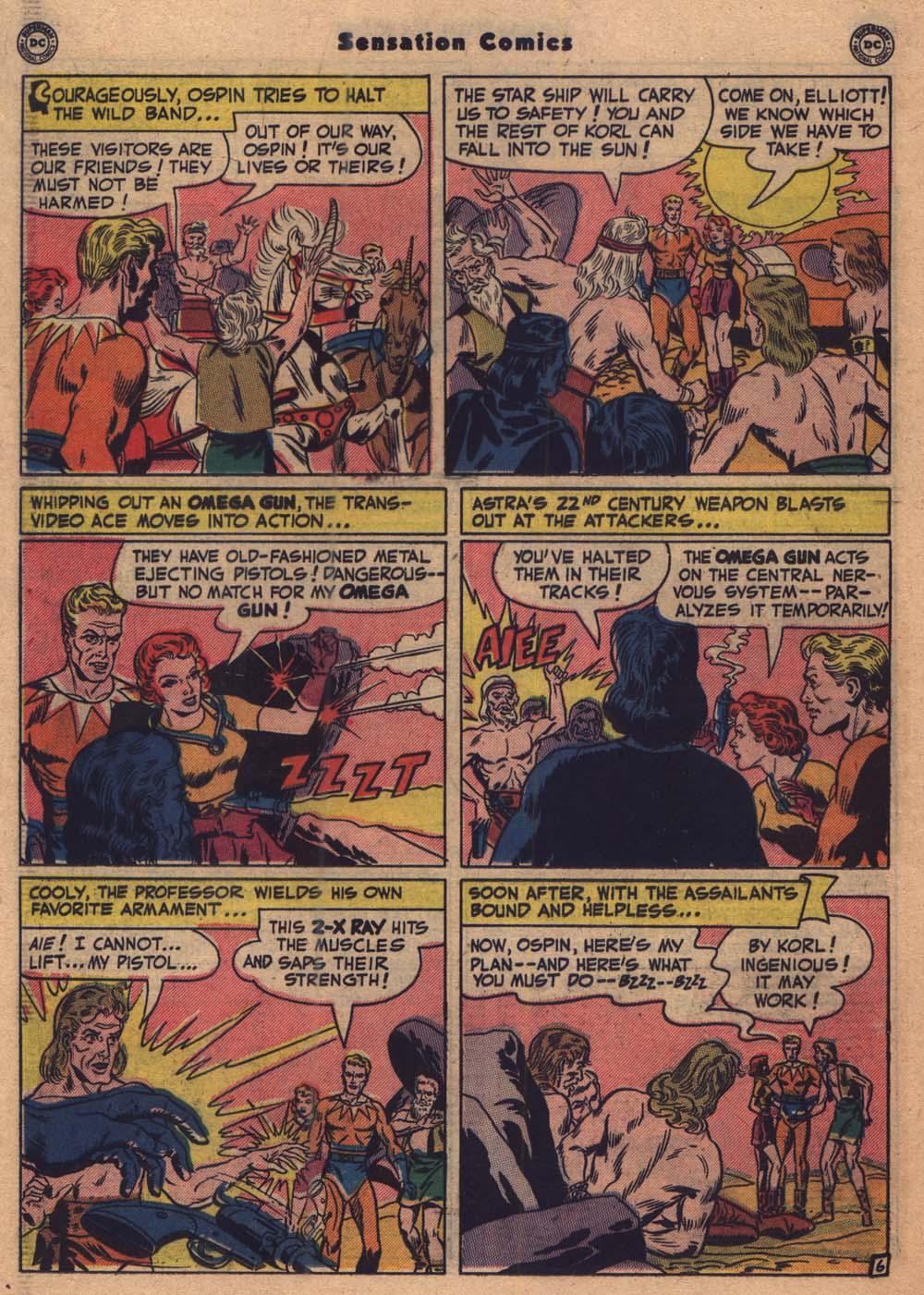 Read online Sensation (Mystery) Comics comic -  Issue #103 - 19