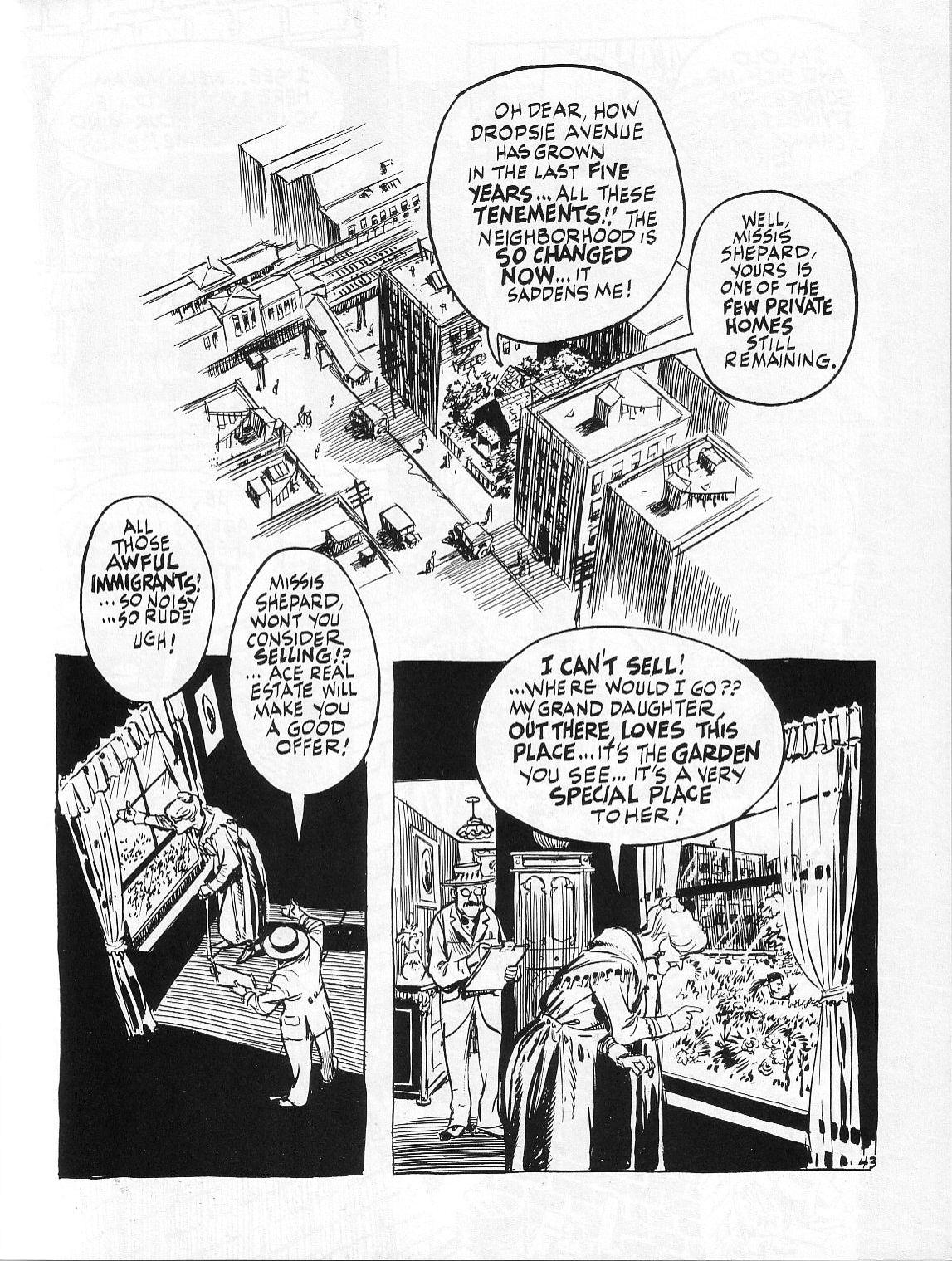 Read online Dropsie Avenue, The Neighborhood comic -  Issue # Full - 45