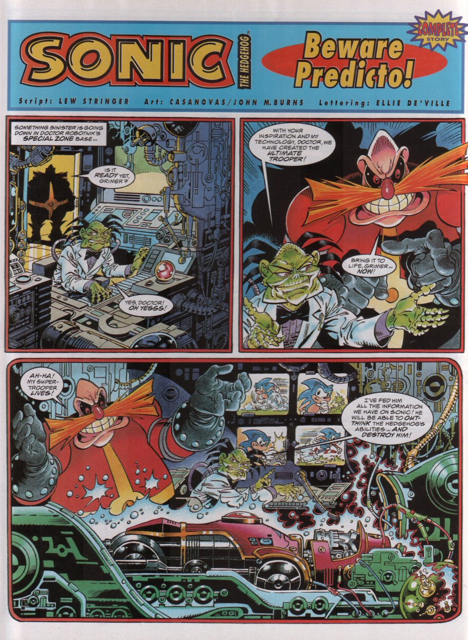 Read online Sonic the Comic comic -  Issue #54 - 3