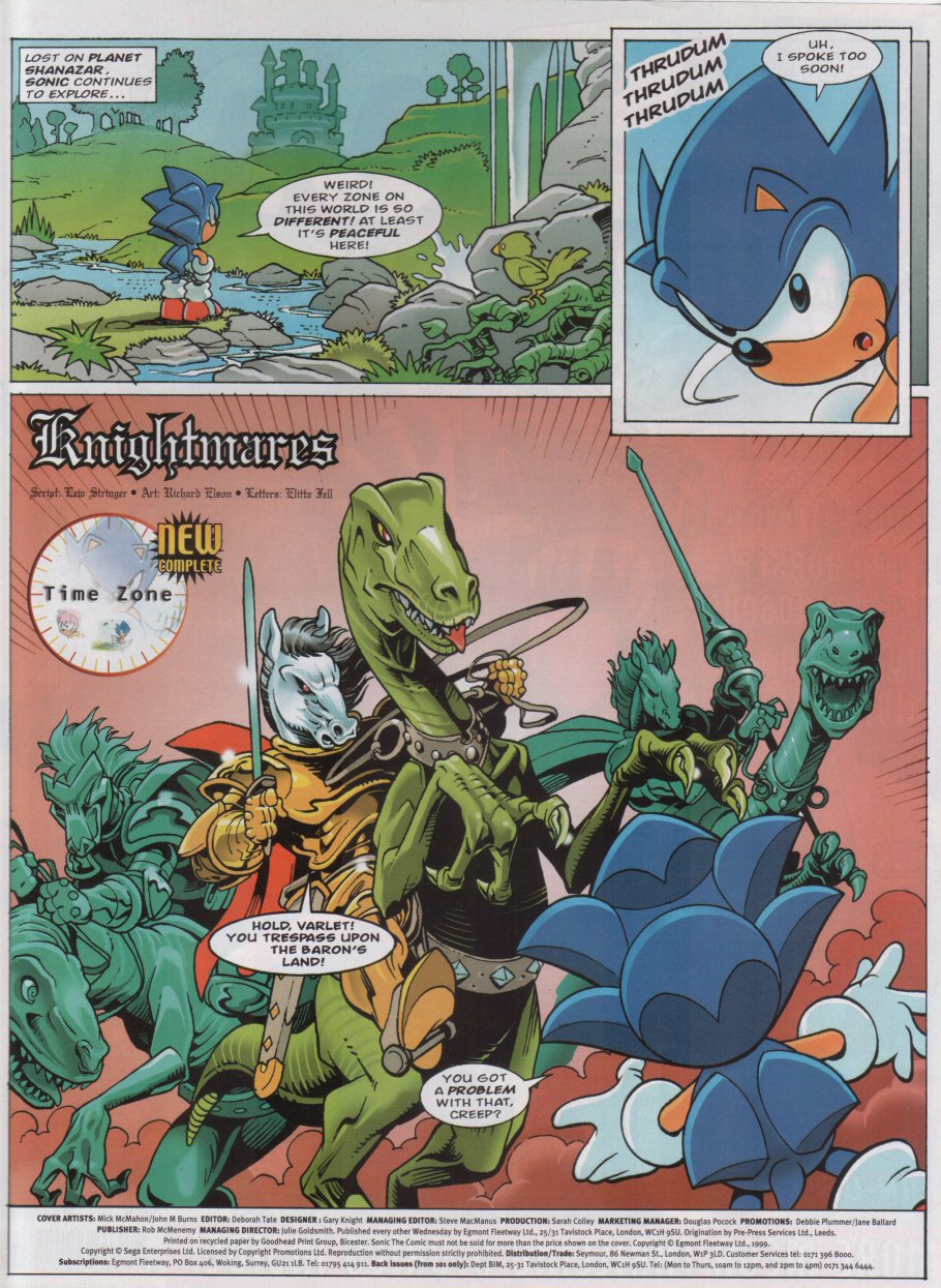 Read online Sonic the Comic comic -  Issue #160 - 2