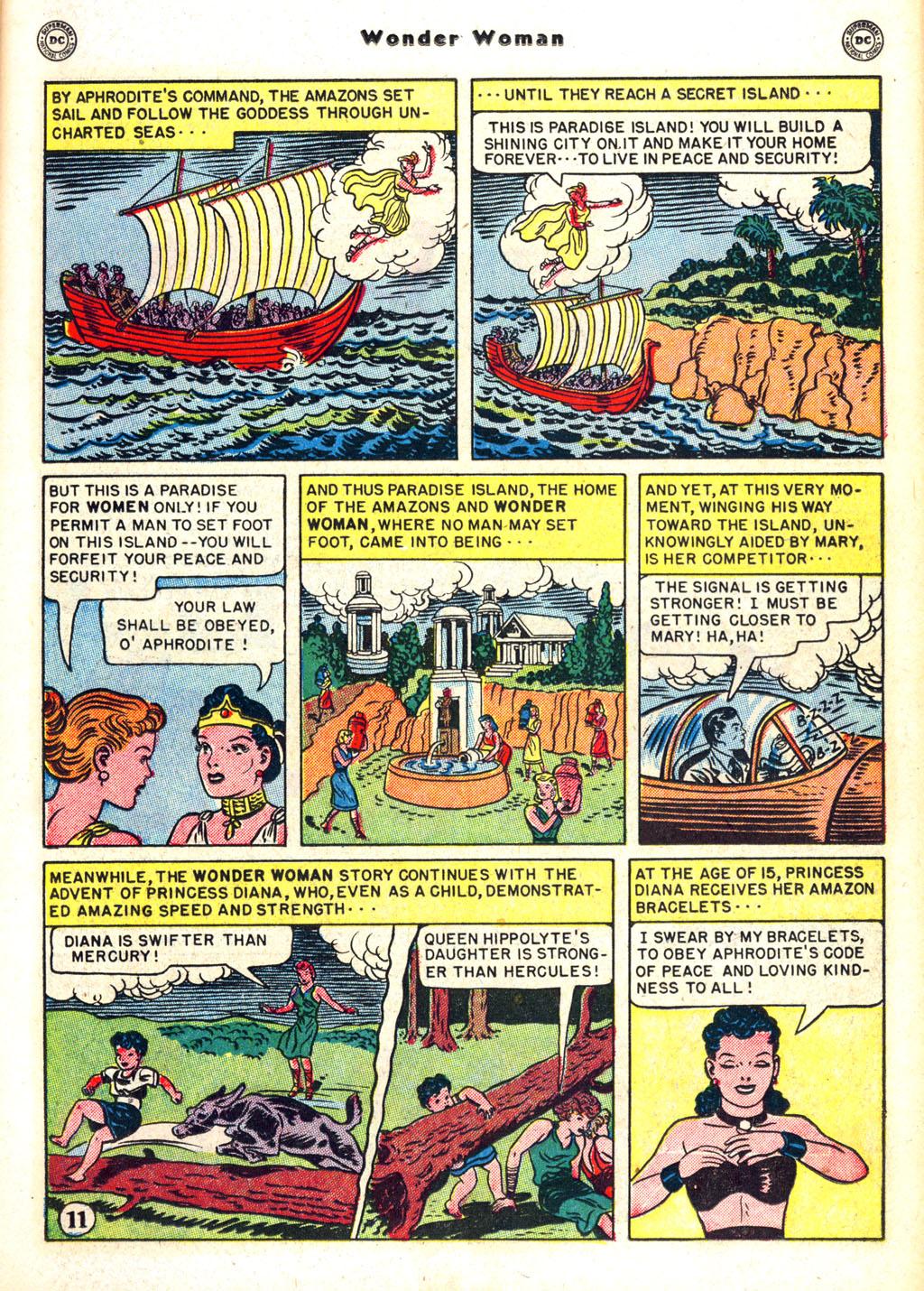 Read online Wonder Woman (1942) comic -  Issue #45 - 15