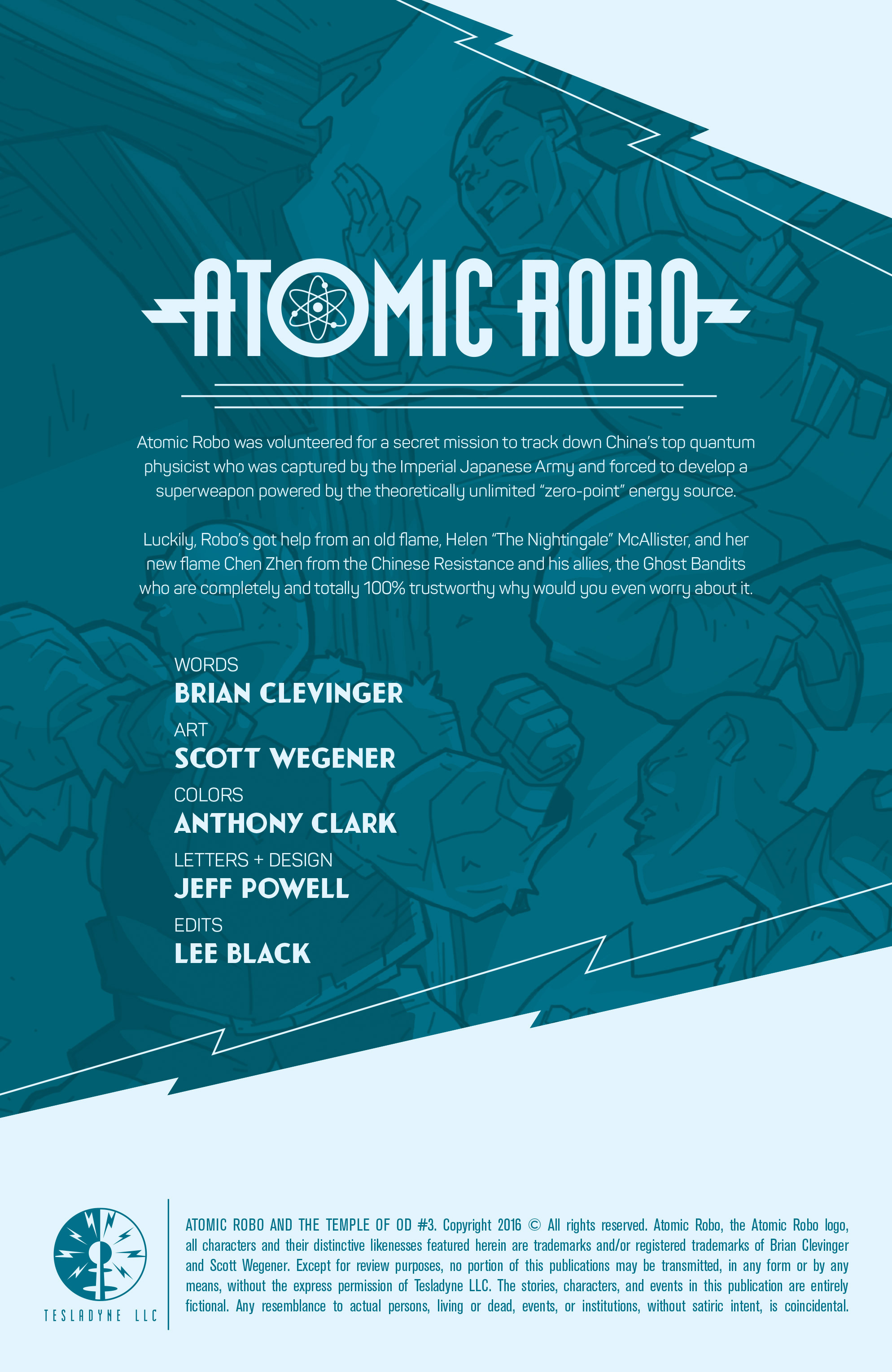 Read online Atomic Robo and the Temple of Od comic -  Issue #3 - 2