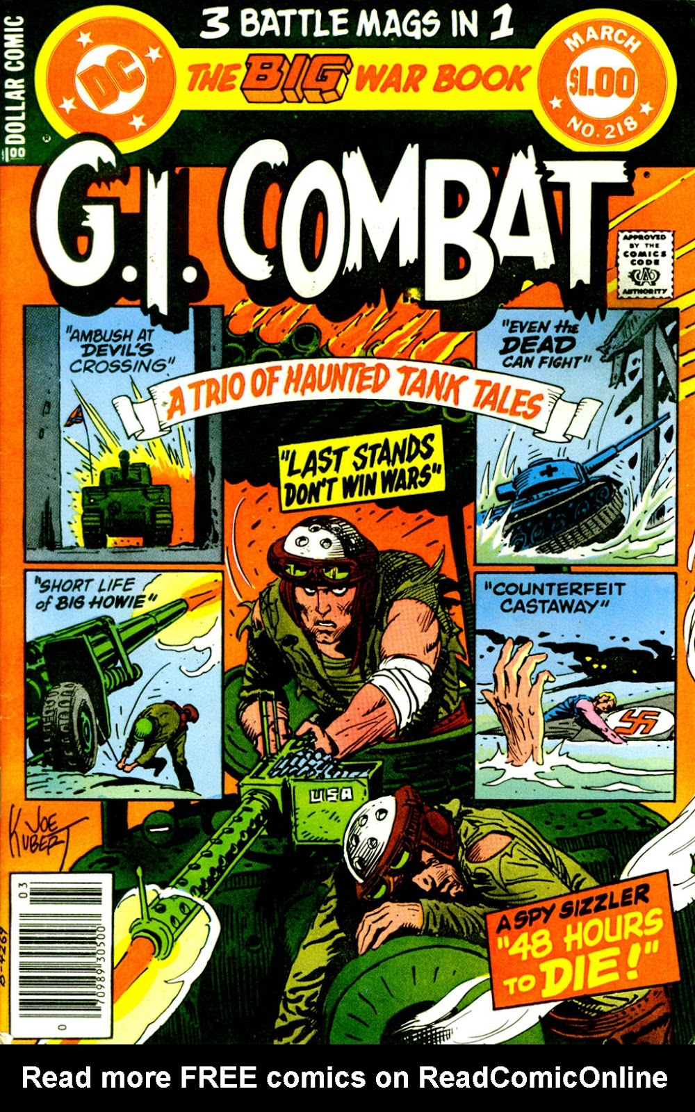 G.I. Combat (1952) issue 218 - Page 1