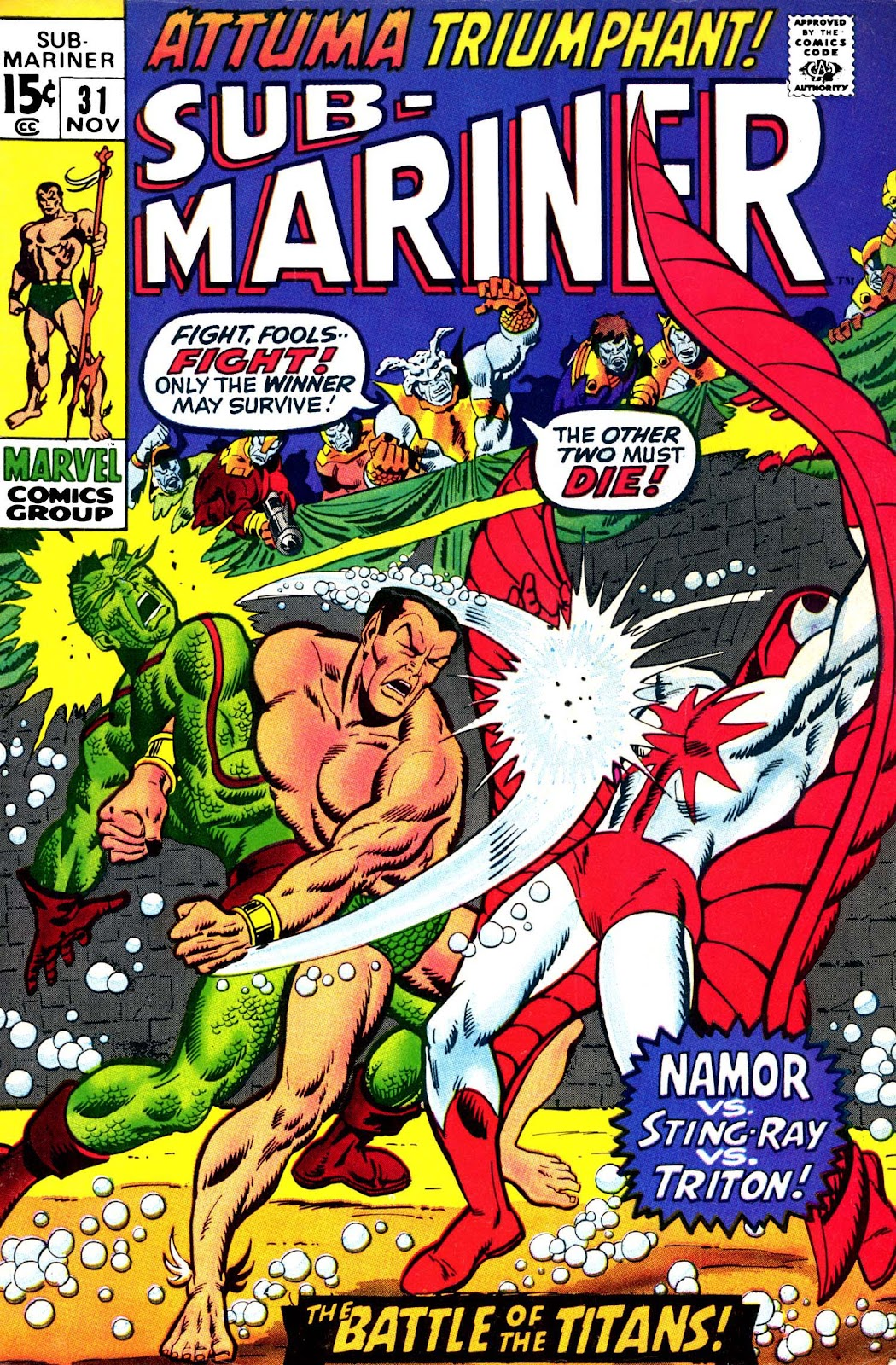 The Sub-Mariner 31 Page 1