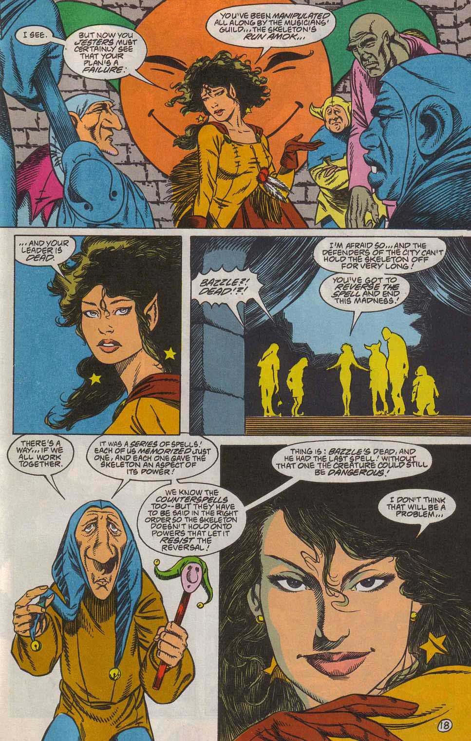 Read online Advanced Dungeons & Dragons comic -  Issue #7 - 19