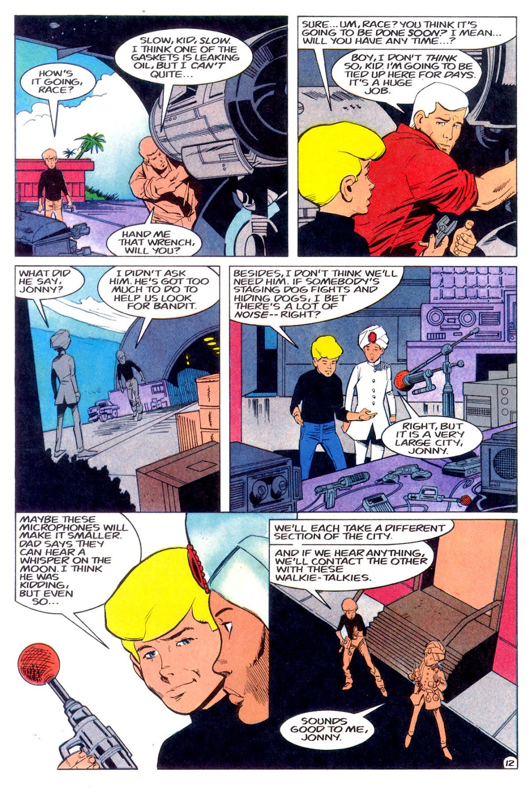 Jonny Quest (1986) issue 11 - Page 15