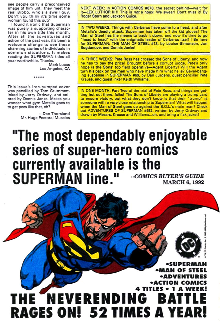 Read online Adventures of Superman (1987) comic -  Issue #491 - 25