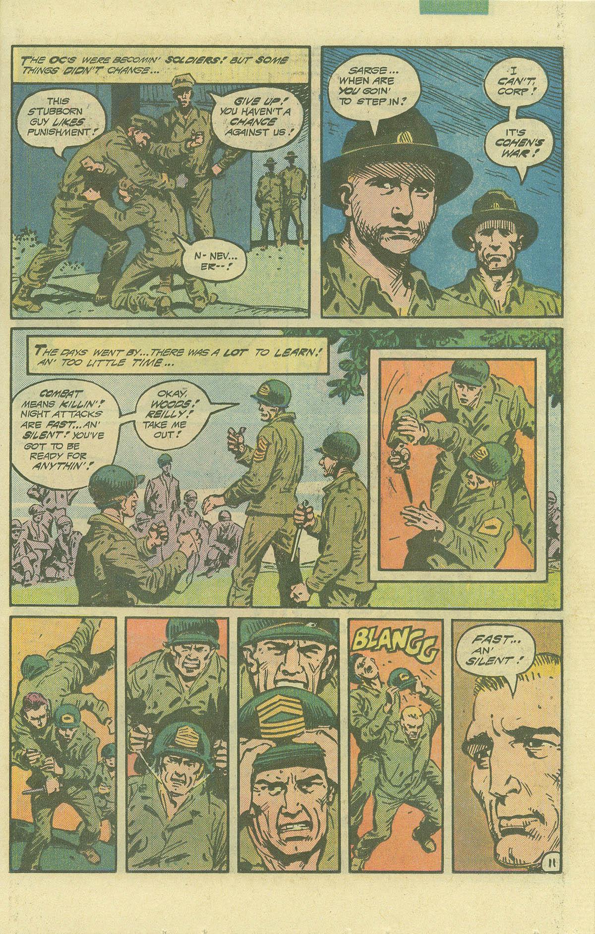 Read online Sgt. Rock comic -  Issue #392 - 11