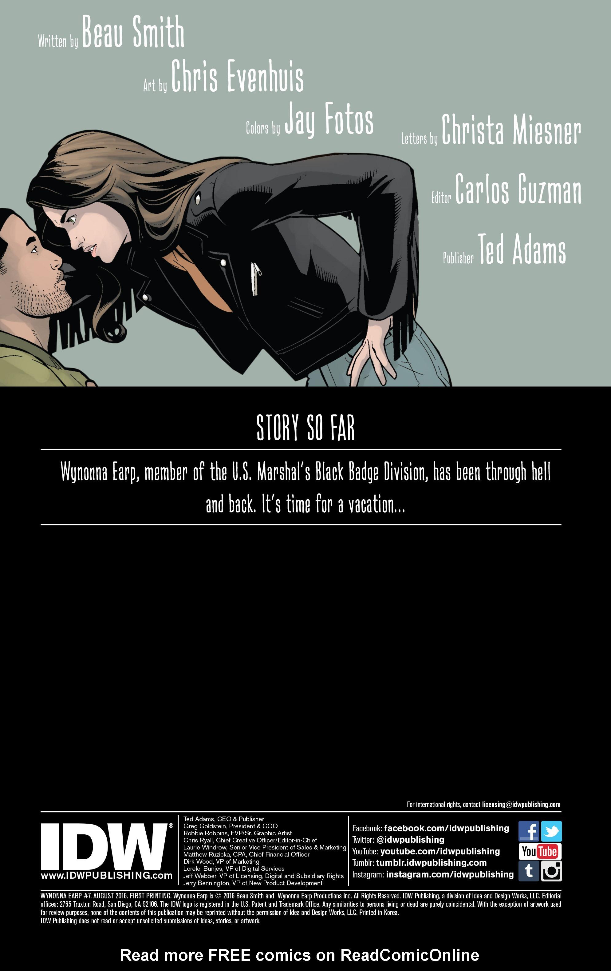 Read online Wynonna Earp (2016) comic -  Issue #7 - 2