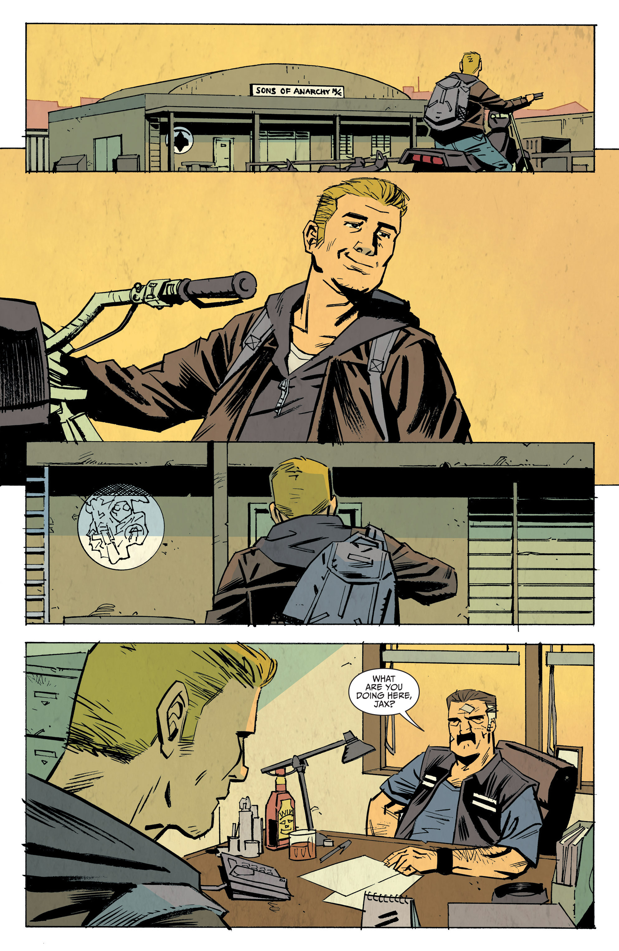Read online Sons of Anarchy: Redwood Original comic -  Issue #8 - 14