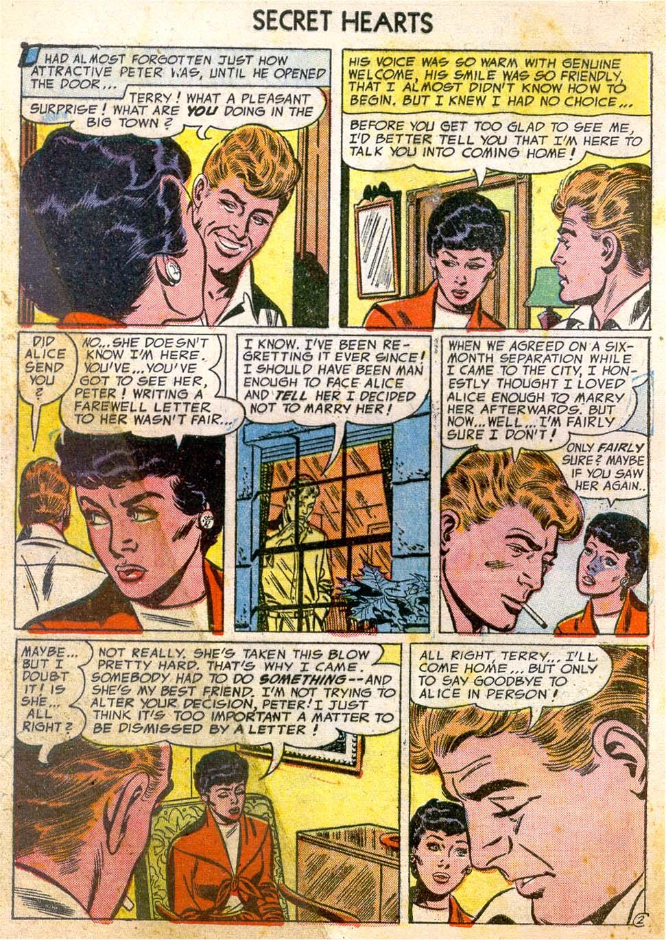 Read online Secret Hearts comic -  Issue #26 - 4