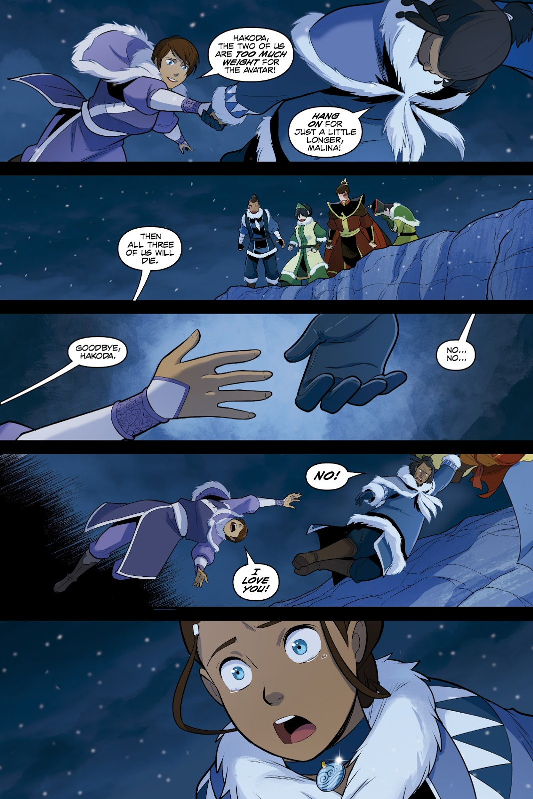 Nickelodeon Avatar: The Last Airbender - North and South issue 3 - Page 66