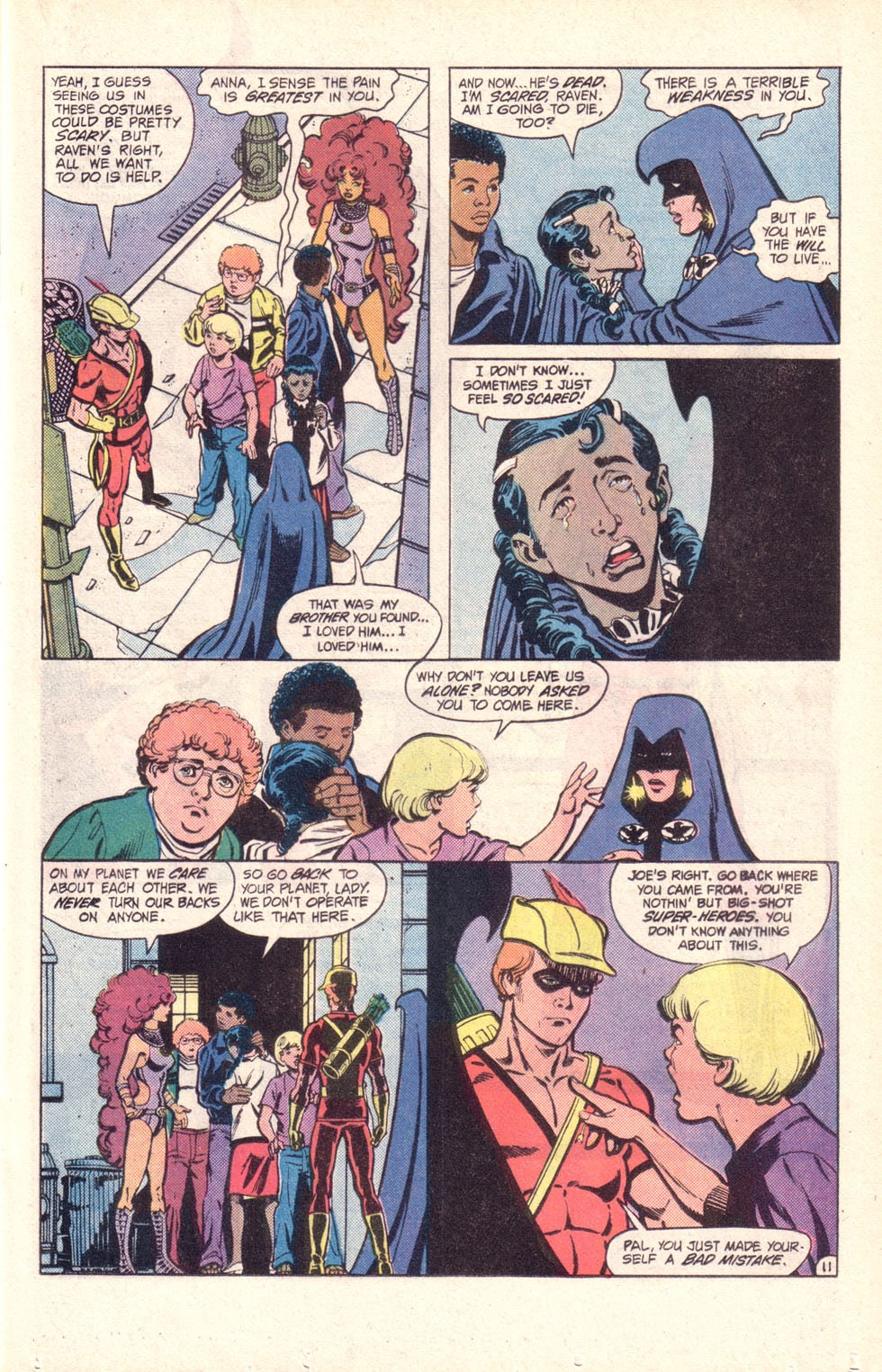 Read online The New Teen Titans (Drug Awareness Specials) comic -  Issue #2 - 13