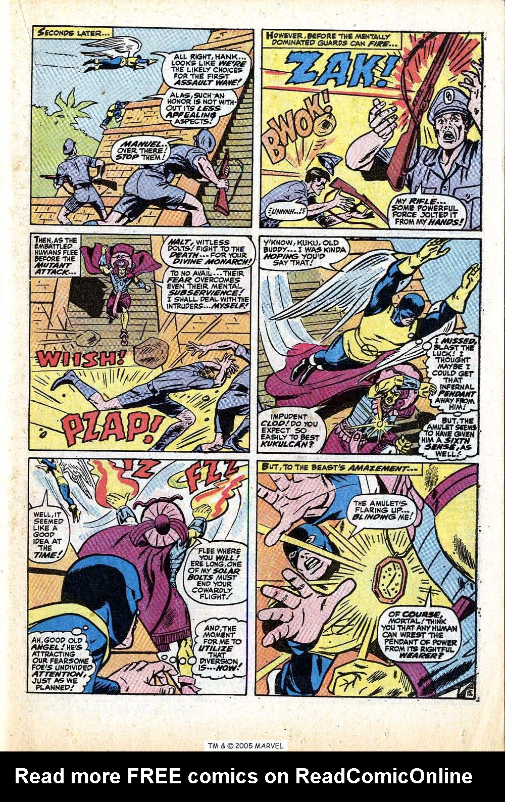 Read online Uncanny X-Men (1963) comic -  Issue #74 - 23
