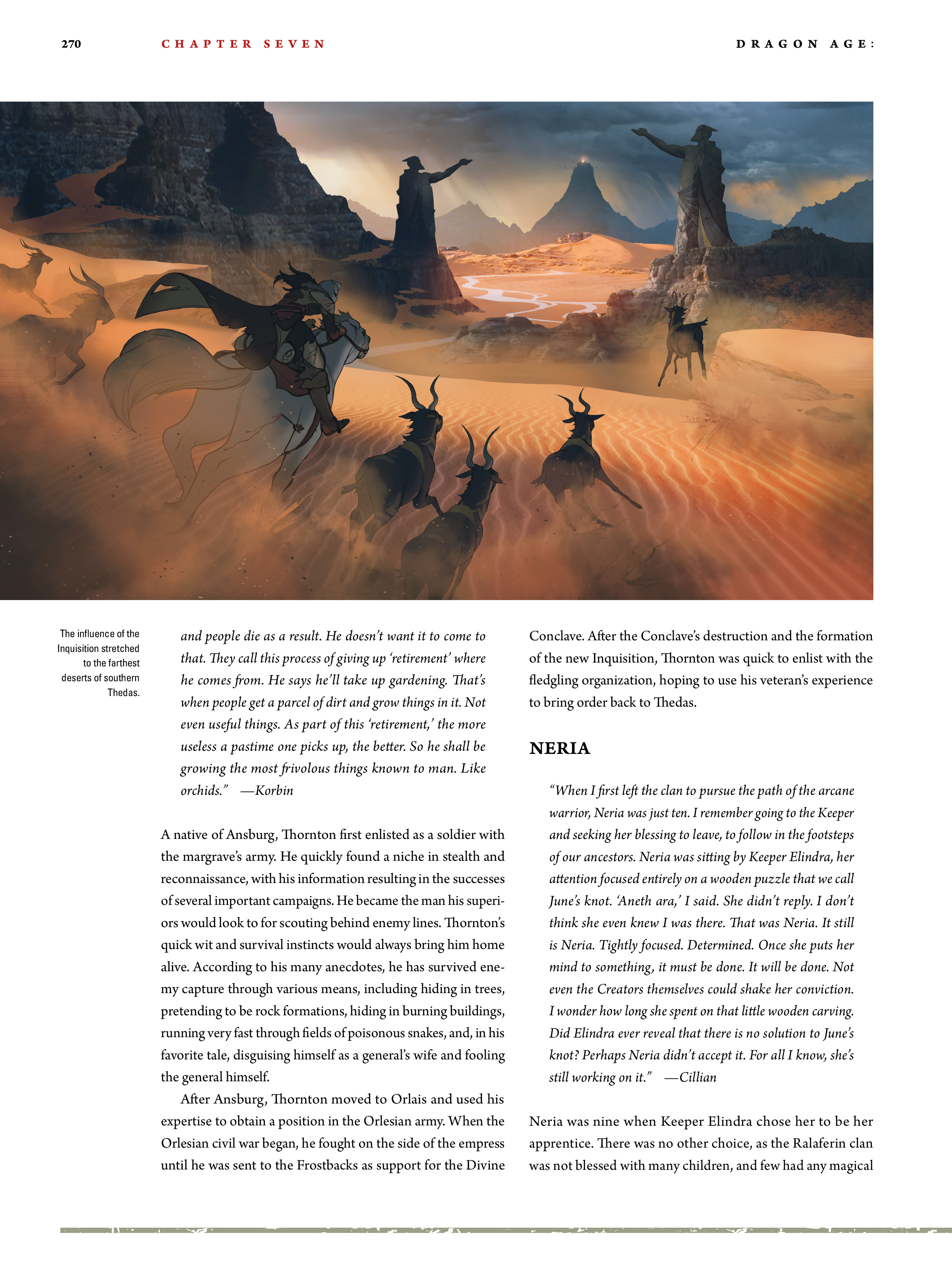 Read online Dragon Age: The World of Thedas comic -  Issue # TPB 2 - 262