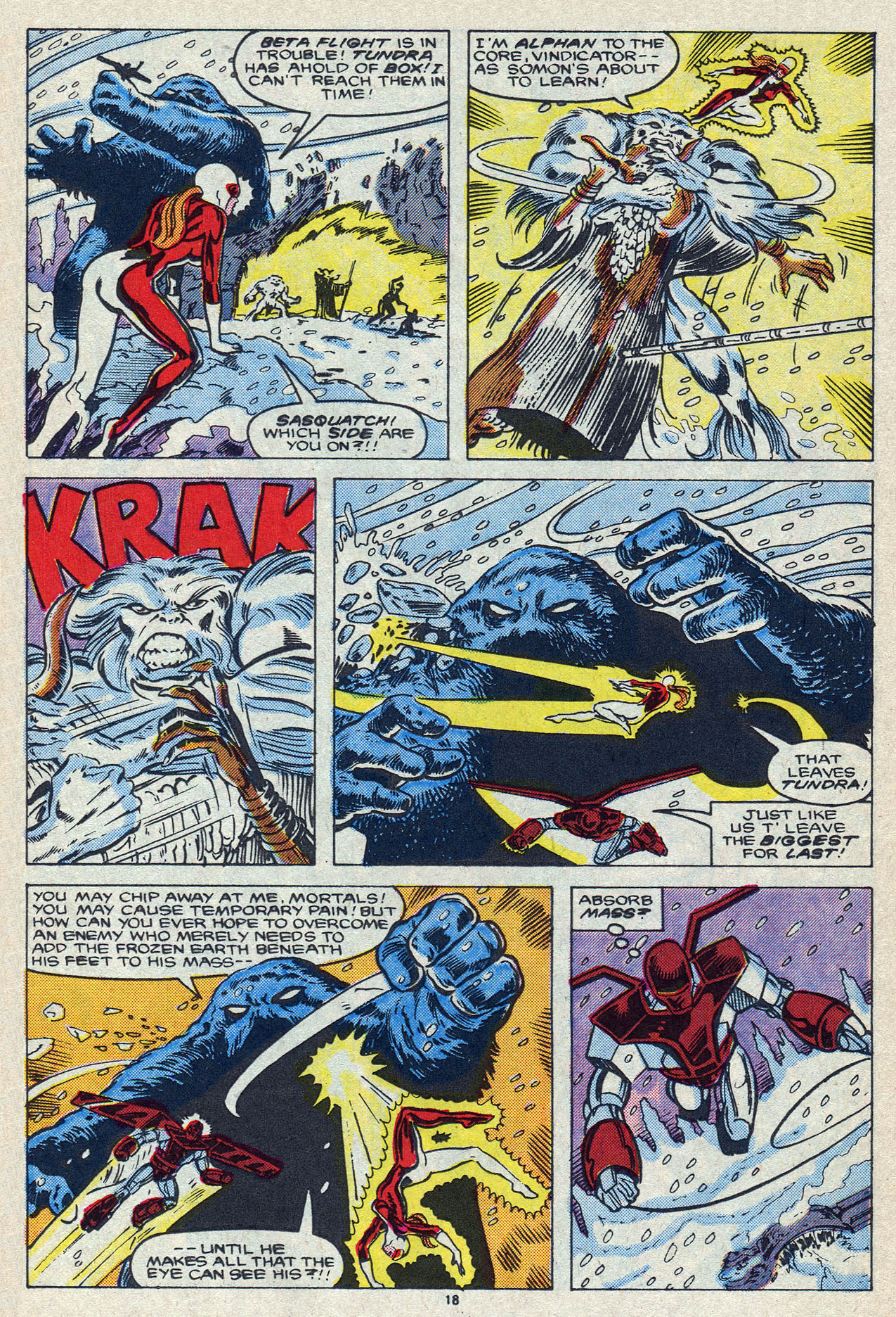 Read online Alpha Flight (1983) comic -  Issue #55 - 25