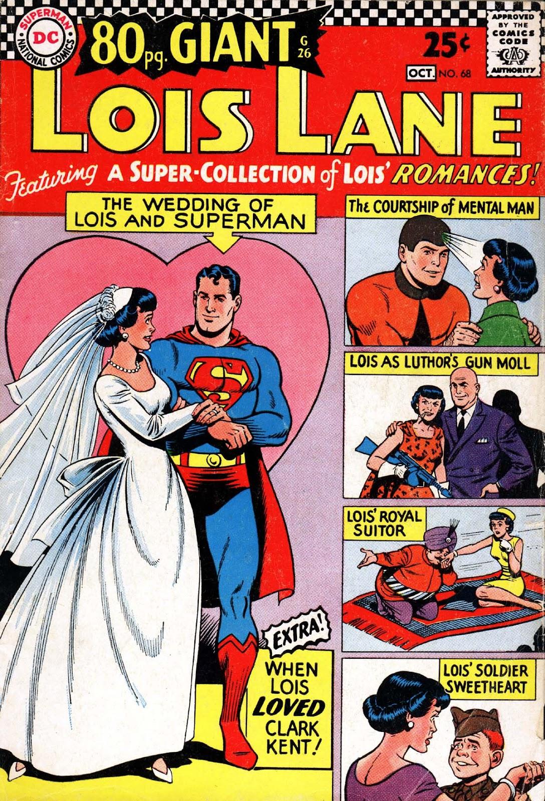Supermans Girl Friend, Lois Lane 68 Page 1
