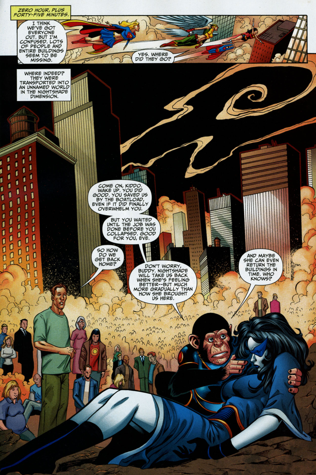 Read online Shadowpact comic -  Issue #16 - 20