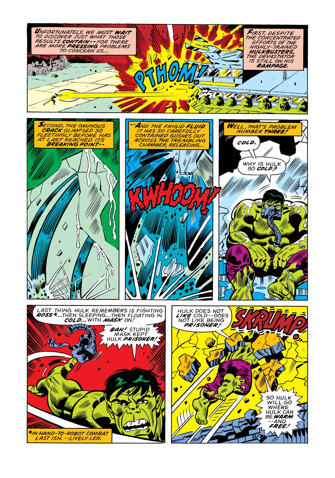 Read online Marvel Masterworks: The Incredible Hulk comic -  Issue # TPB 11 (Part 1) - 57