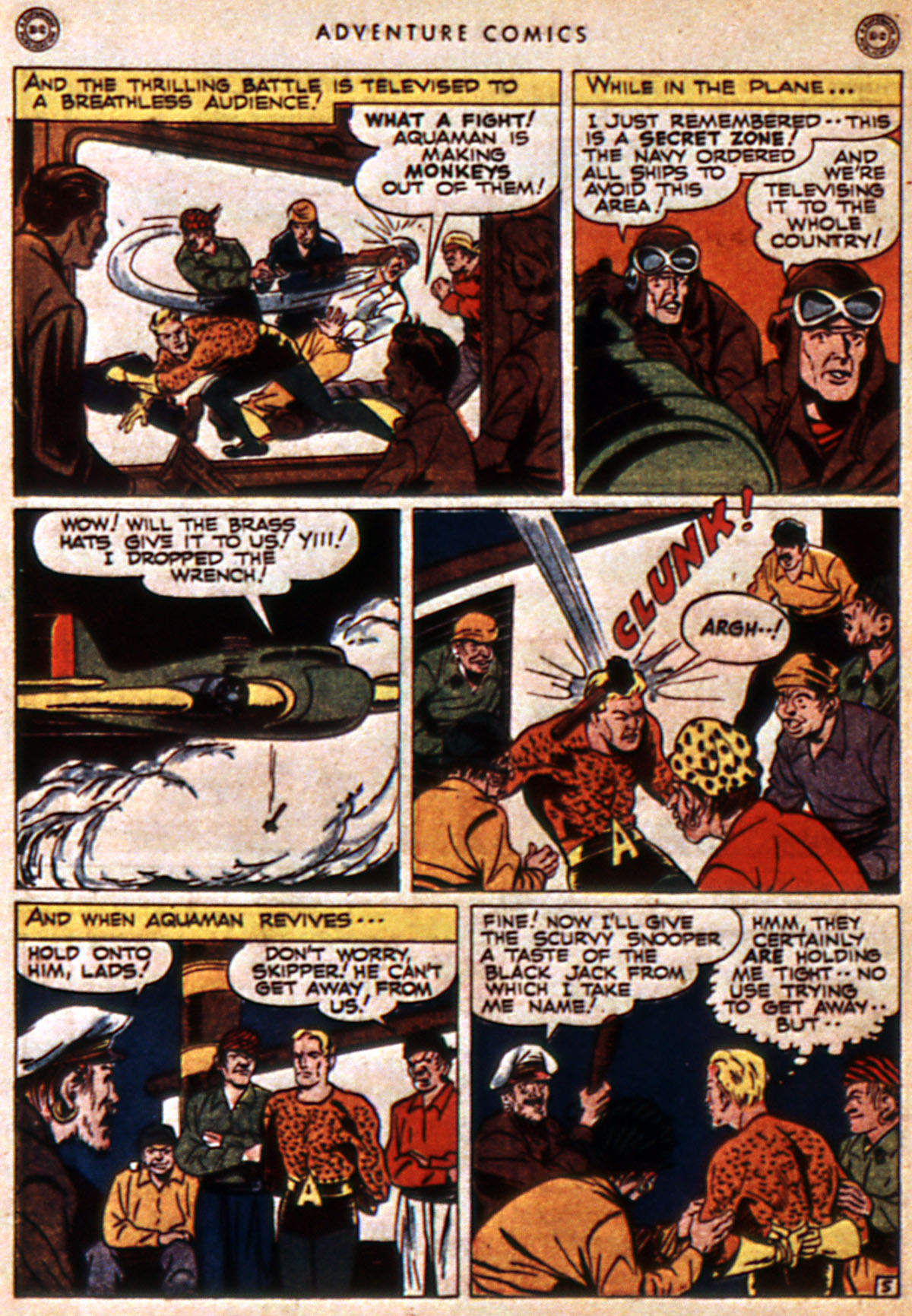 Read online Adventure Comics (1938) comic -  Issue #112 - 46