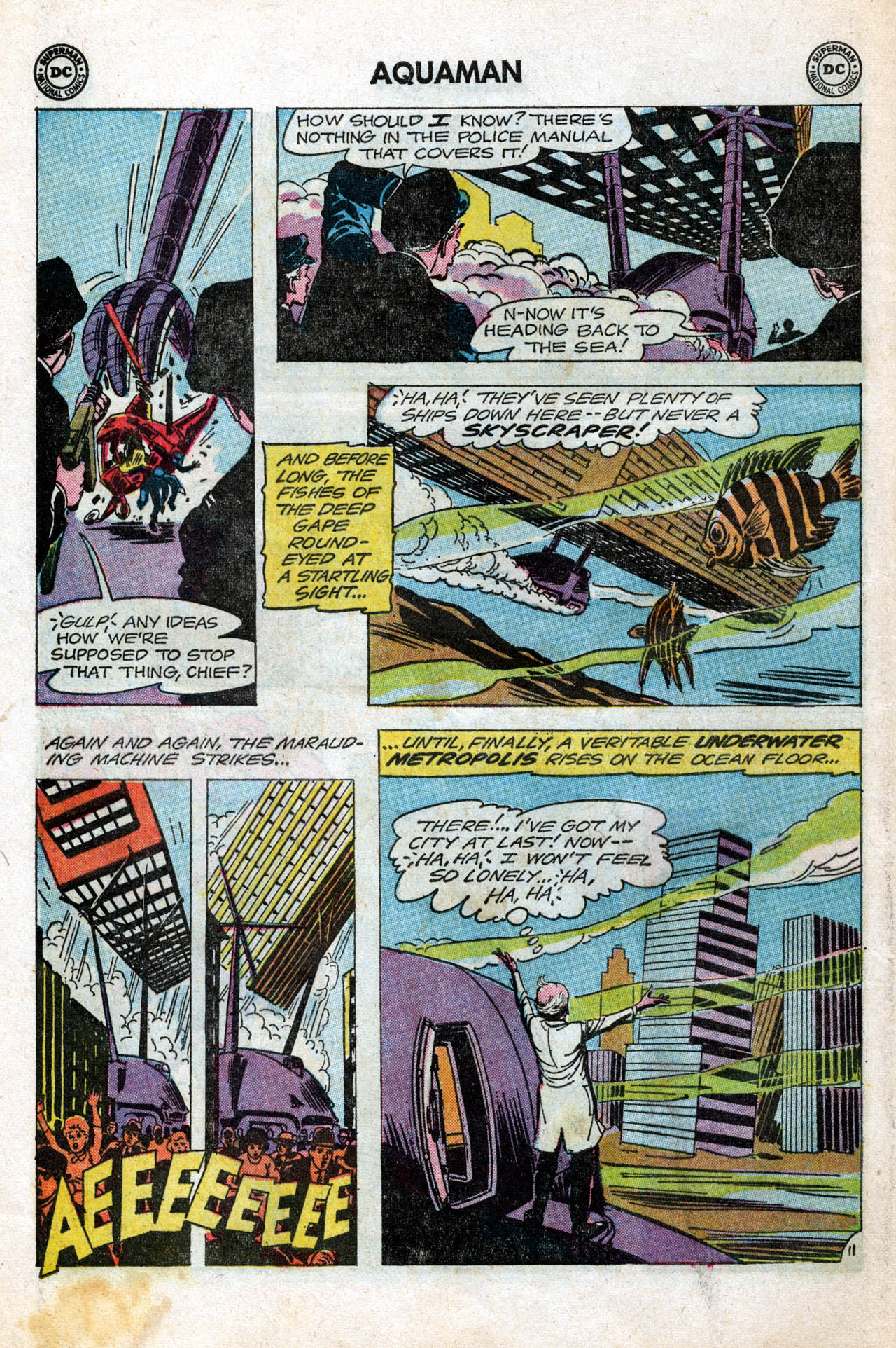 Read online Aquaman (1962) comic -  Issue #15 - 16
