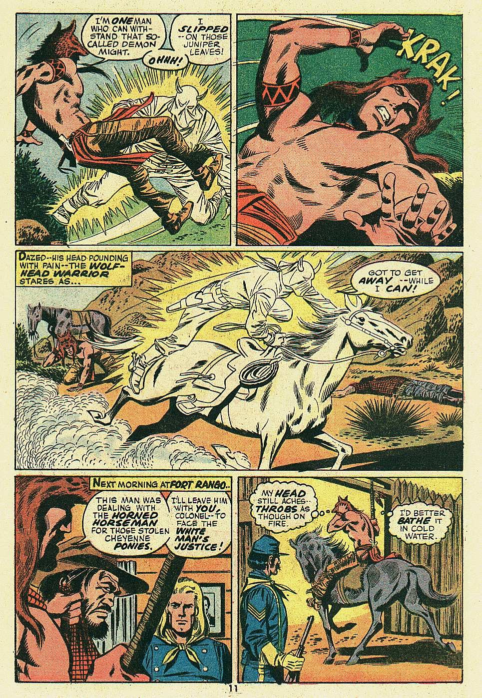 Red Wolf (1972) issue 6 - Page 9