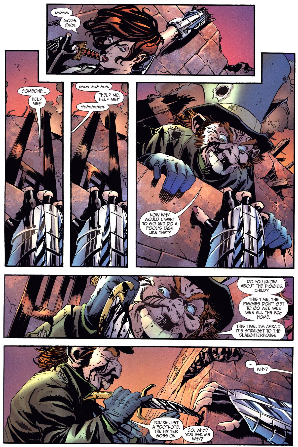 Read online Secret Six (2006) comic -  Issue #6 - 18