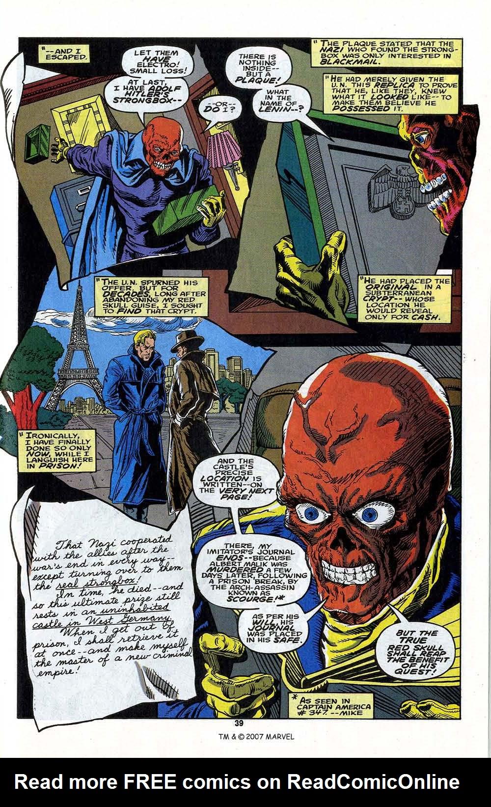 Read online Captain America (1968) comic -  Issue # _Annual 13 - 41