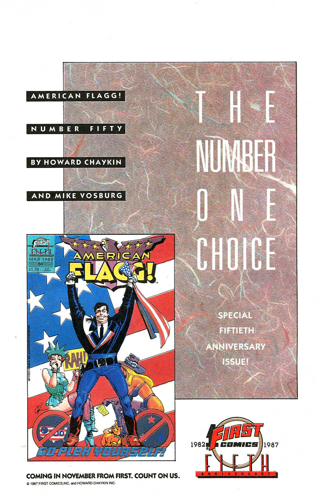 Read online American Flagg! comic -  Issue #49 - 23