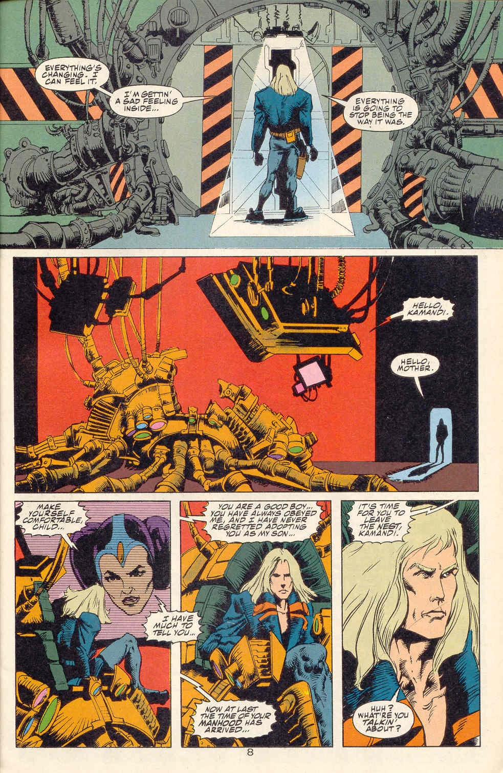 Read online Kamandi: At Earth's End comic -  Issue #1 - 9