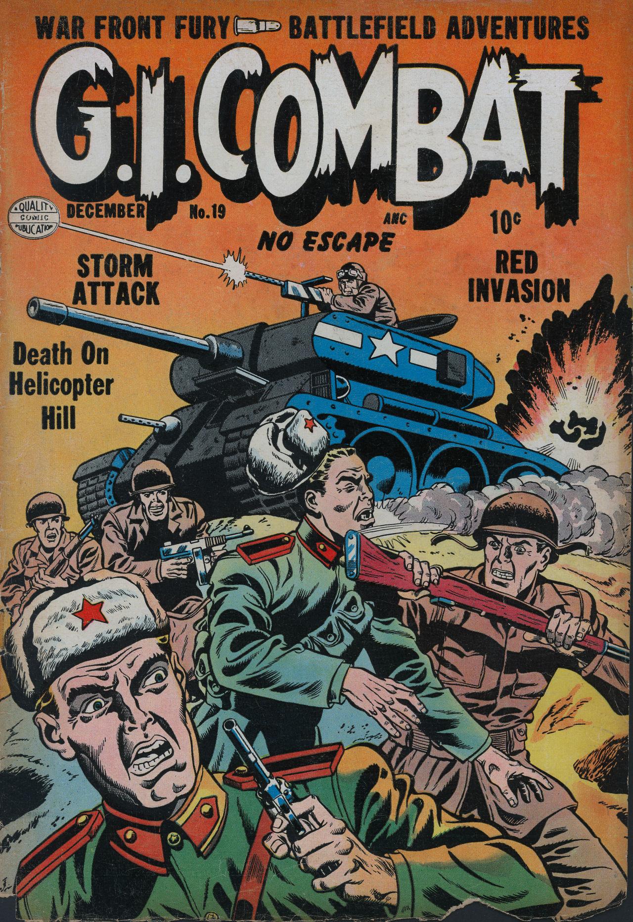 G.I. Combat (1952) 19 Page 1