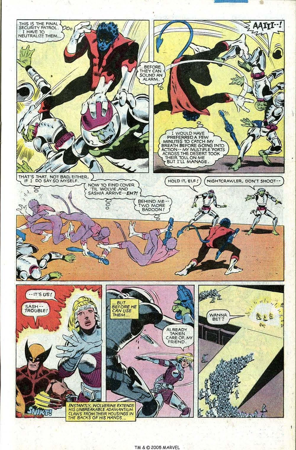 Read online Uncanny X-Men (1963) comic -  Issue # _Annual 5 - 31