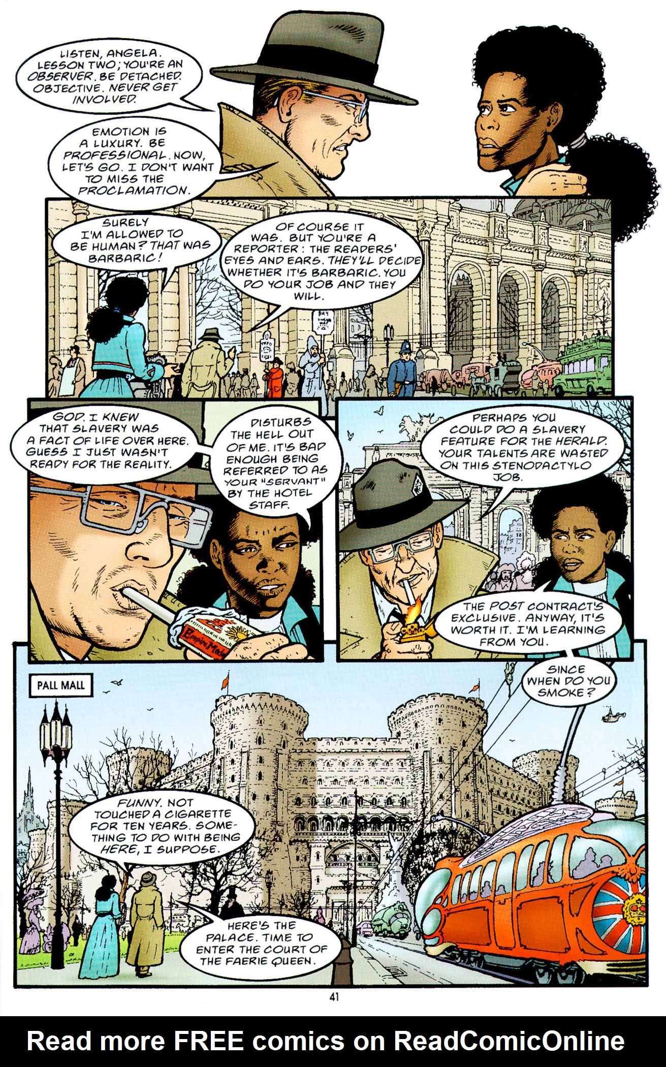 Read online Heart of Empire comic -  Issue #2 - 9
