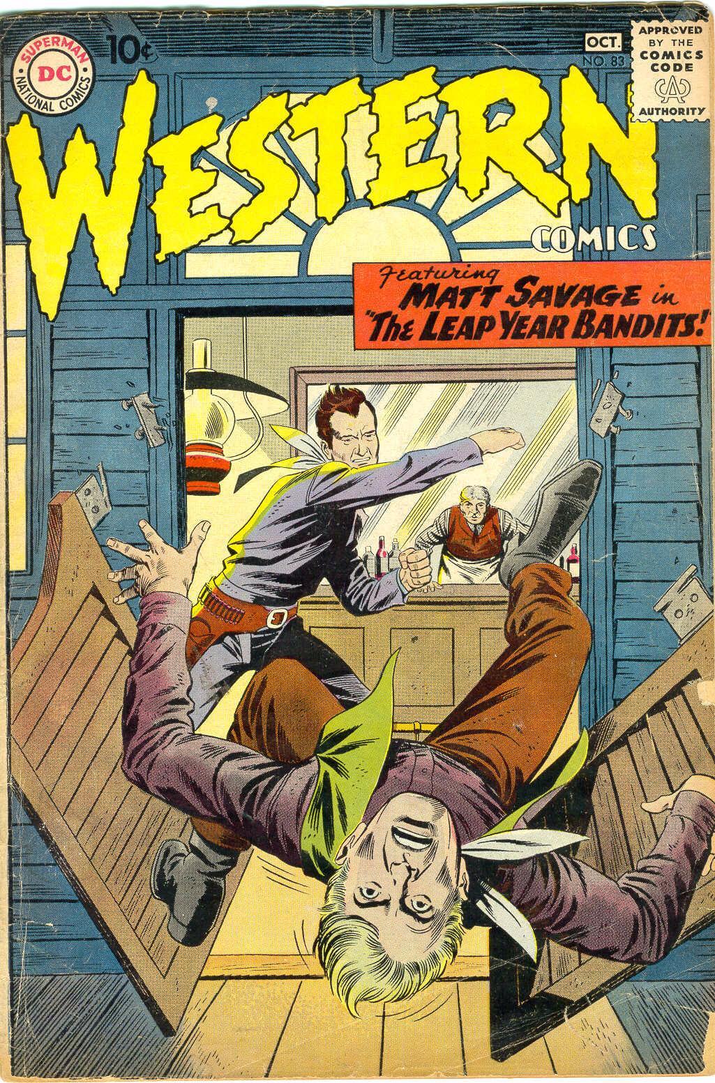 Western Comics 83 Page 1