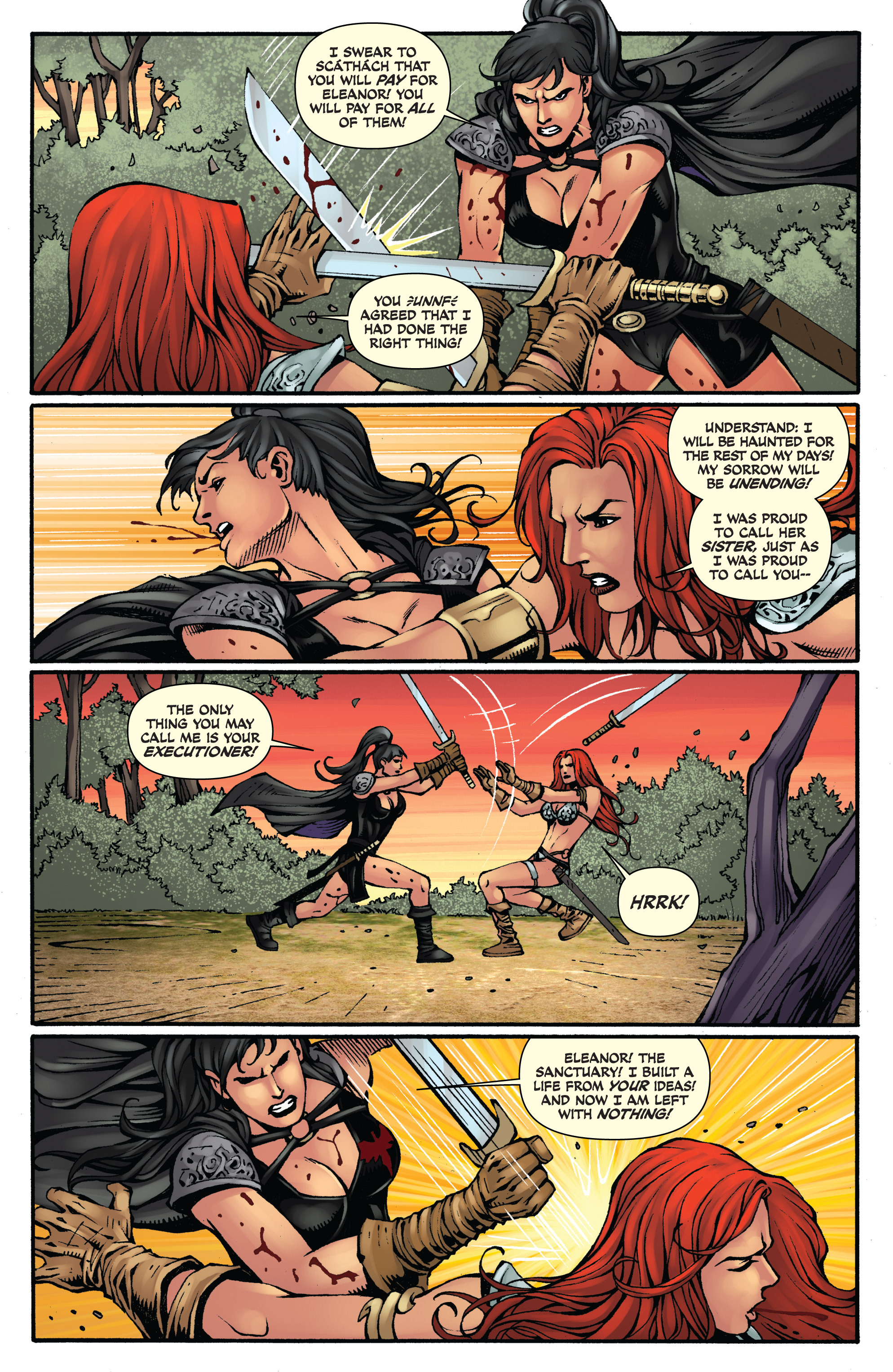 Read online Red Sonja: Sanctuary comic -  Issue # Full - 24
