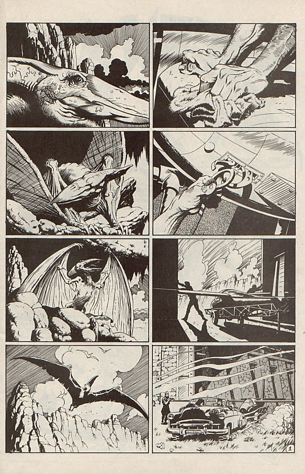 Read online Xenozoic Tales comic -  Issue #6 - 13