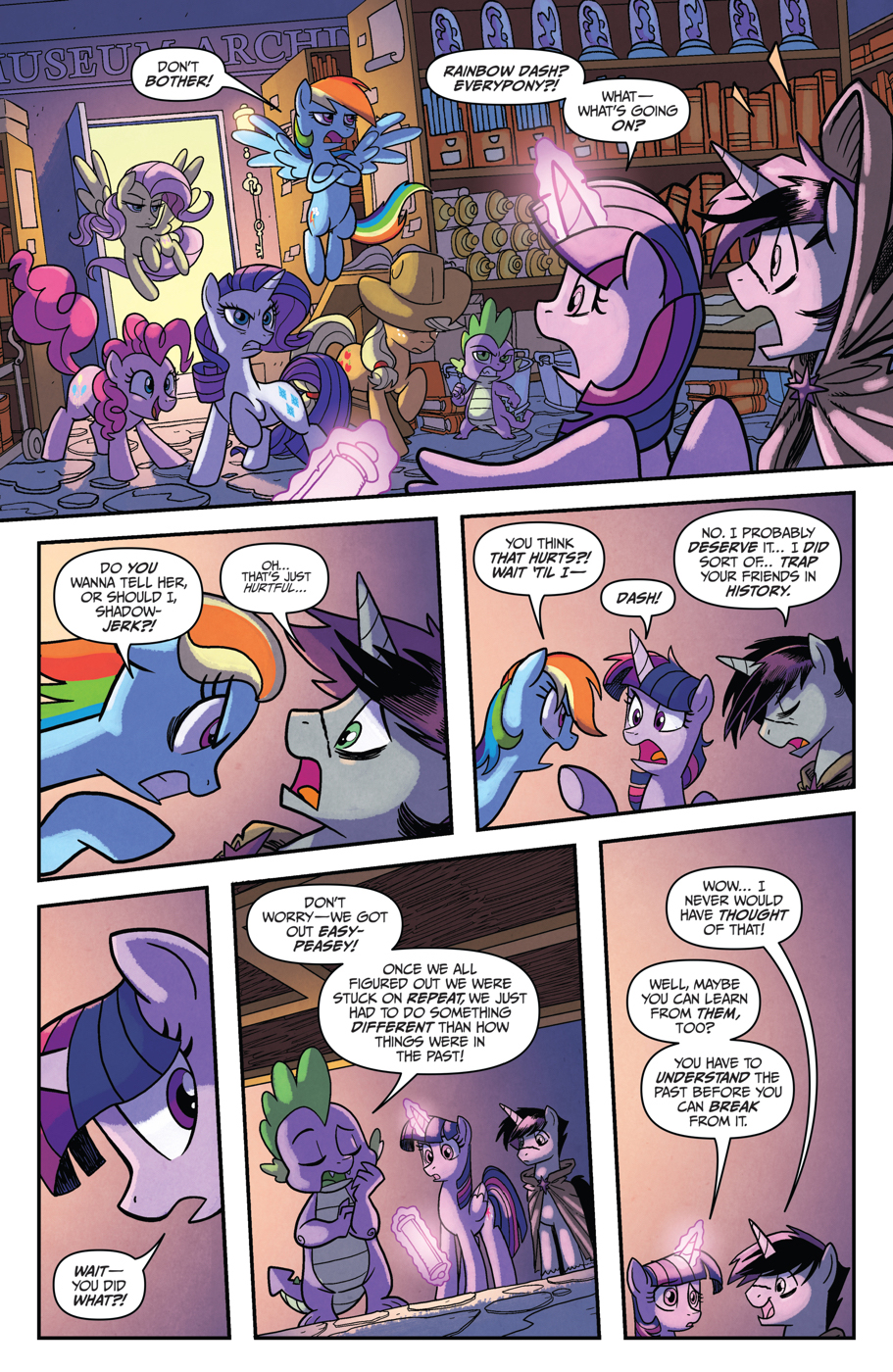 Read online My Little Pony: Friendship is Magic comic -  Issue #53 - 19