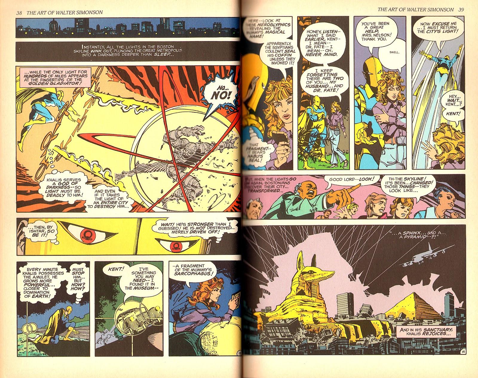 Read online The Art of Walter Simonson comic -  Issue # TPB - 21