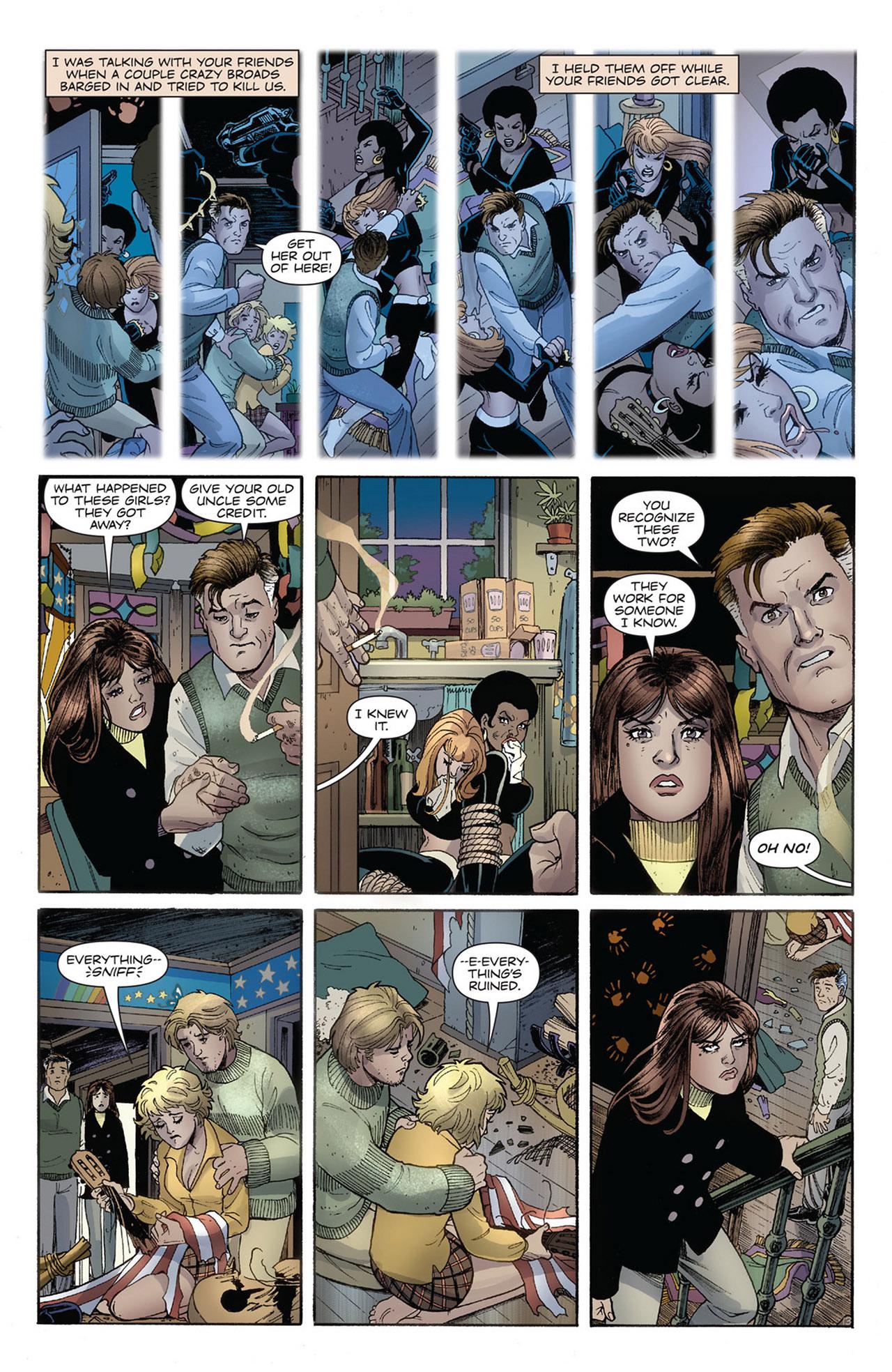 Read online Before Watchmen: Silk Spectre comic - Issue #4
