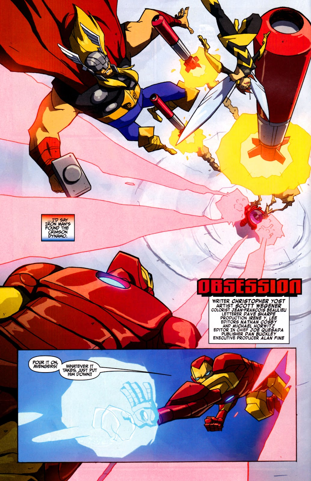 Avengers: Earth's Mightiest Heroes (2011) Issue #2 #2 - English 3