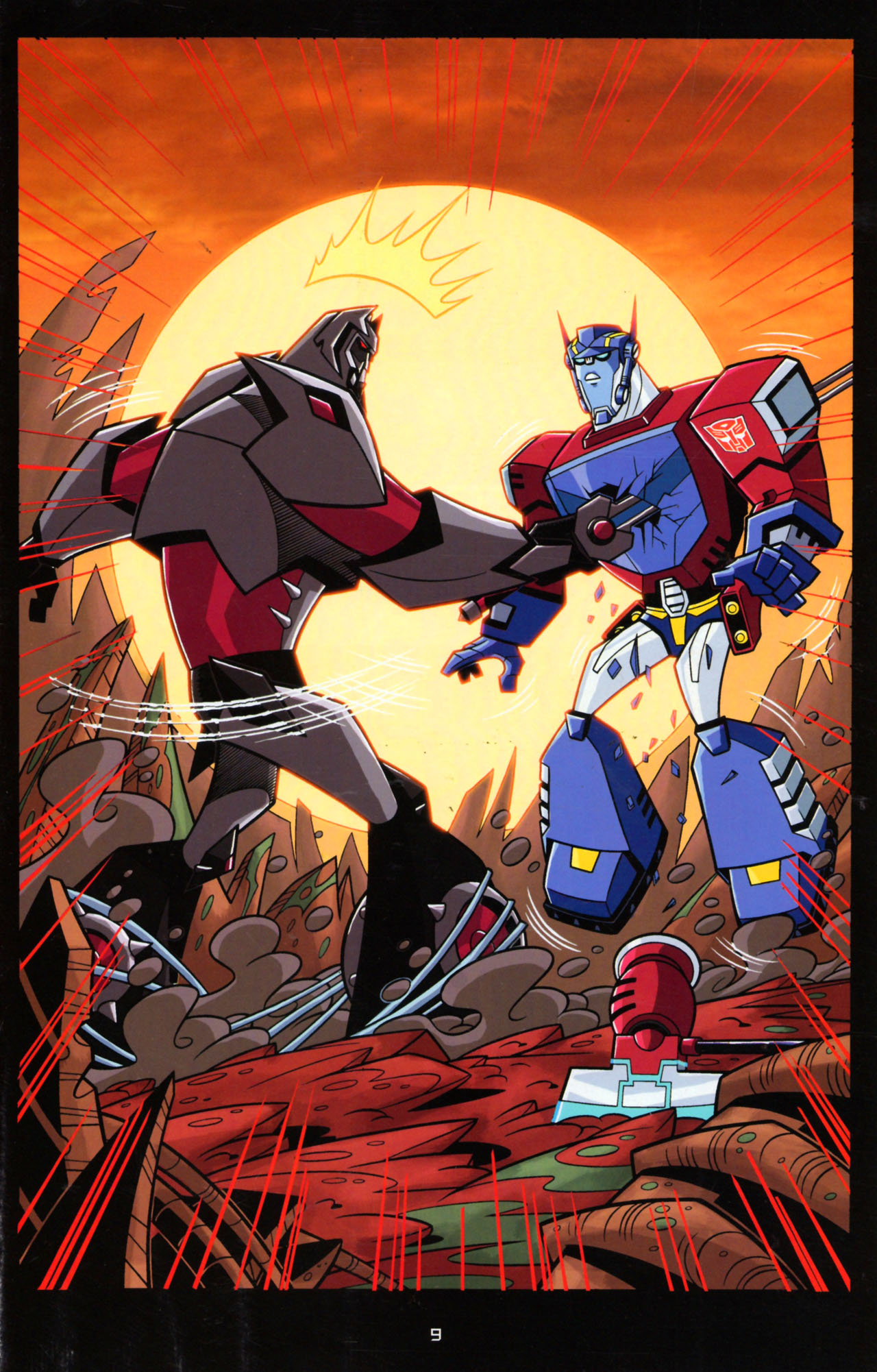 Read online Transformers Animated: The Arrival comic -  Issue #5 - 13