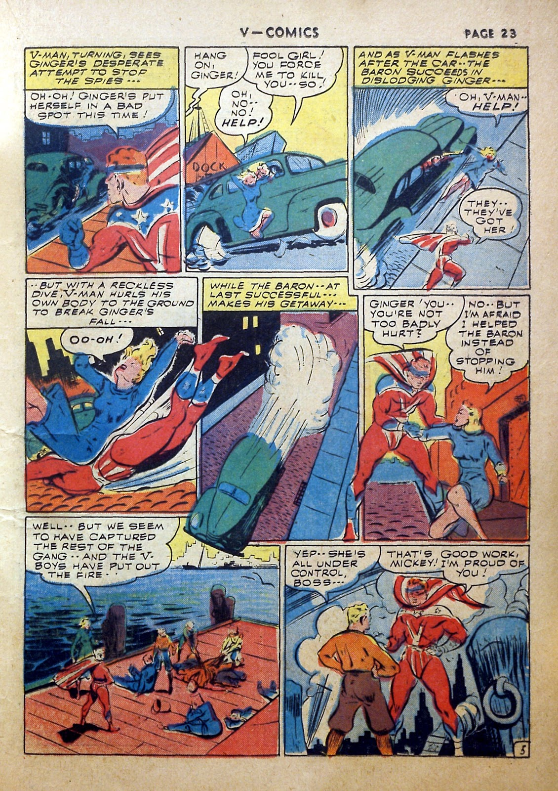 Read online V...- Comics comic -  Issue #2 - 24