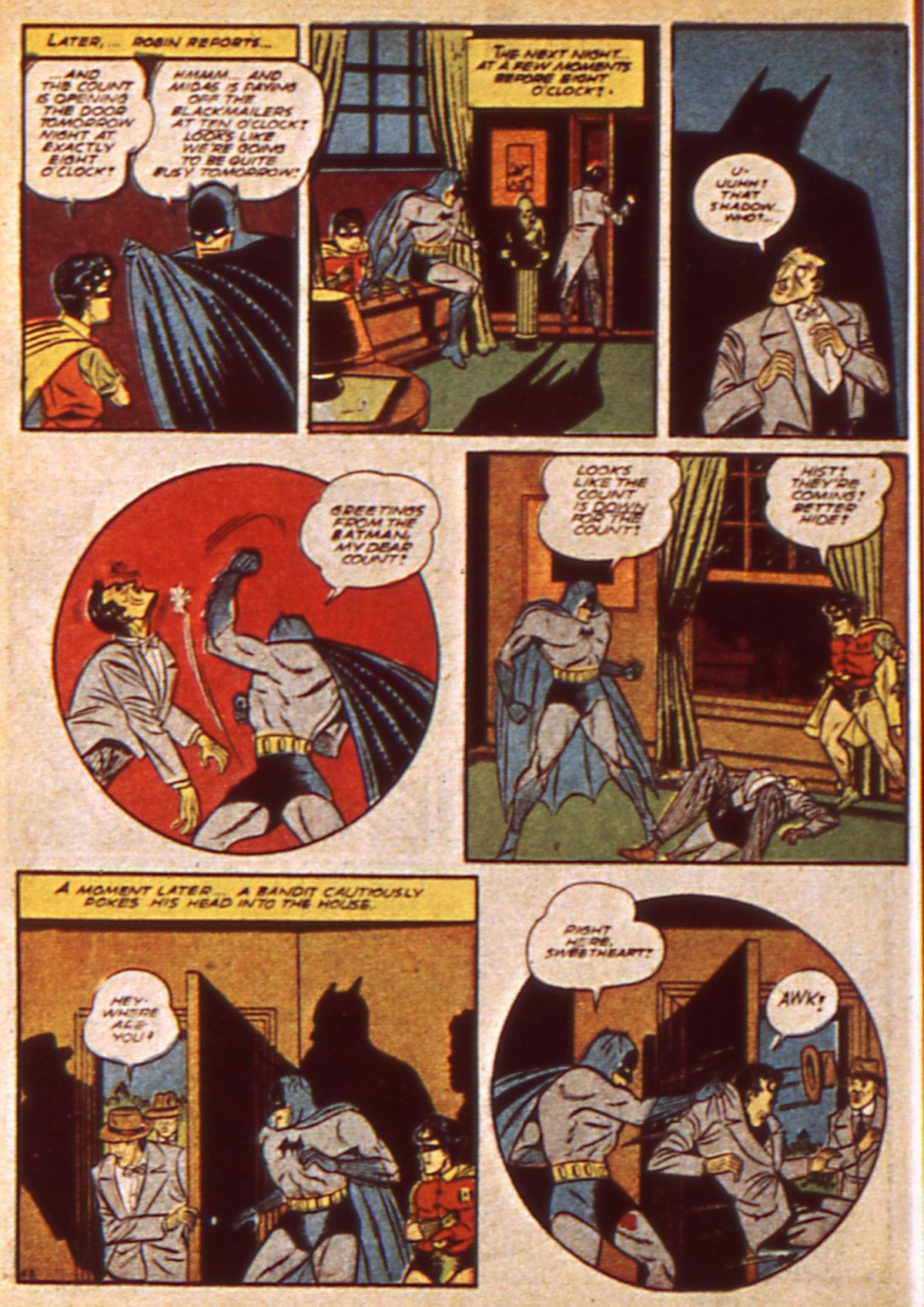 Read online Detective Comics (1937) comic -  Issue #47 - 10