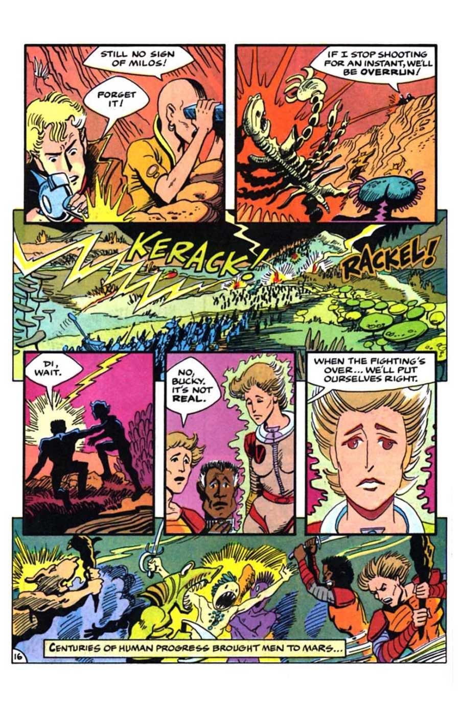 Read online Mars comic -  Issue #9 - 18