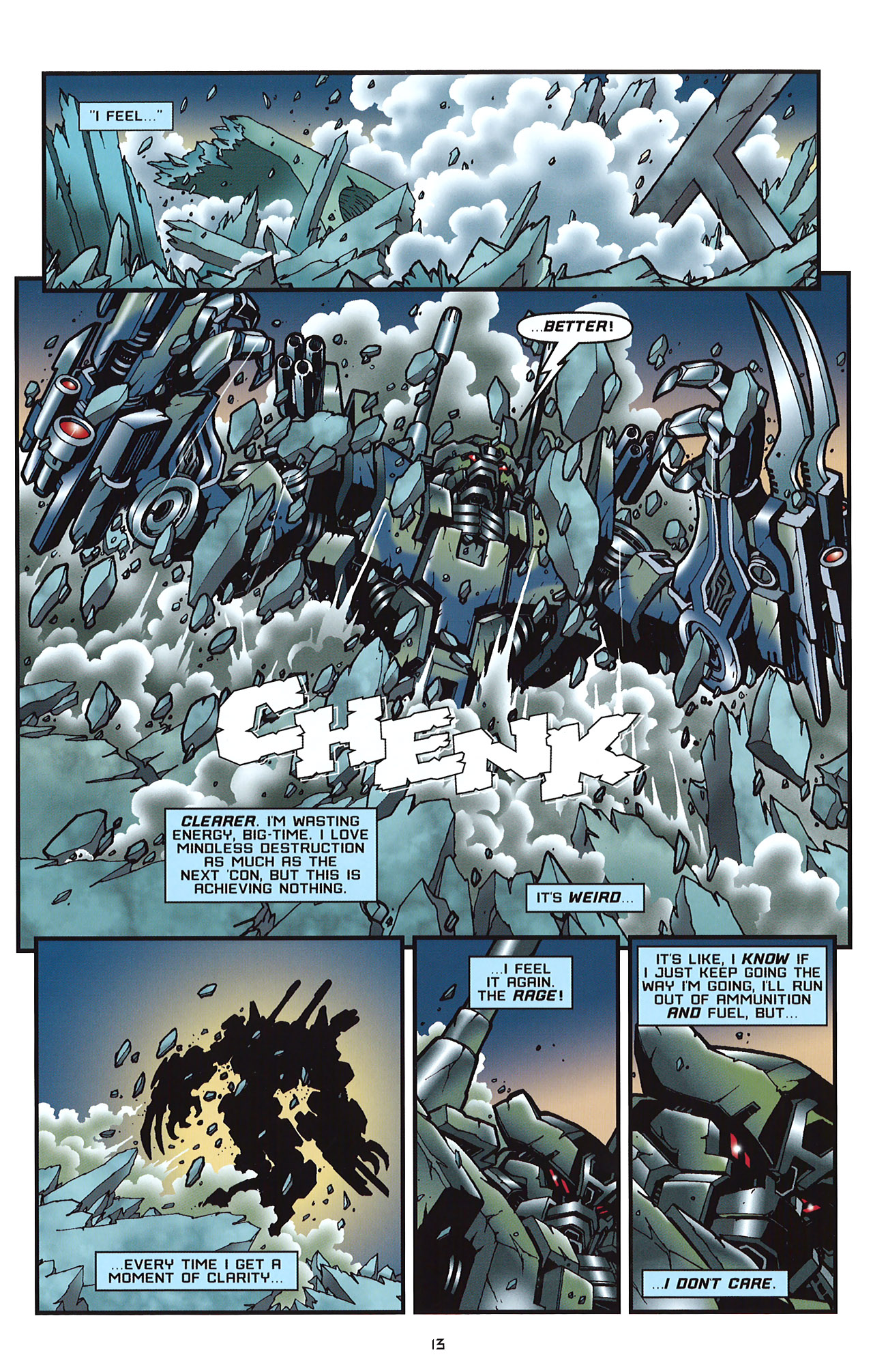 Read online Transformers: Saga of the Allspark comic -  Issue #2 - 16