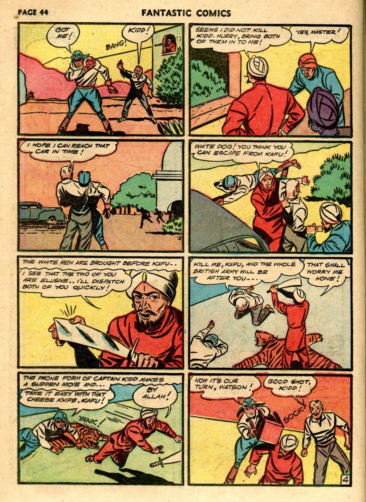 Read online Fantastic Comics comic -  Issue #21 - 42