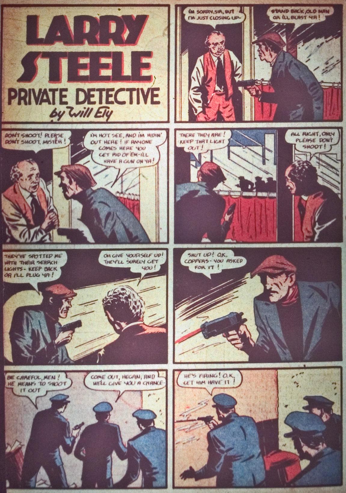 Read online Detective Comics (1937) comic -  Issue #26 - 36