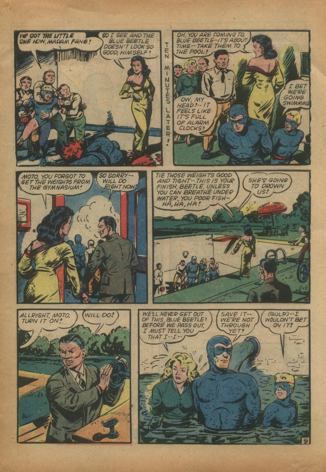 The Blue Beetle issue 15 - Page 11