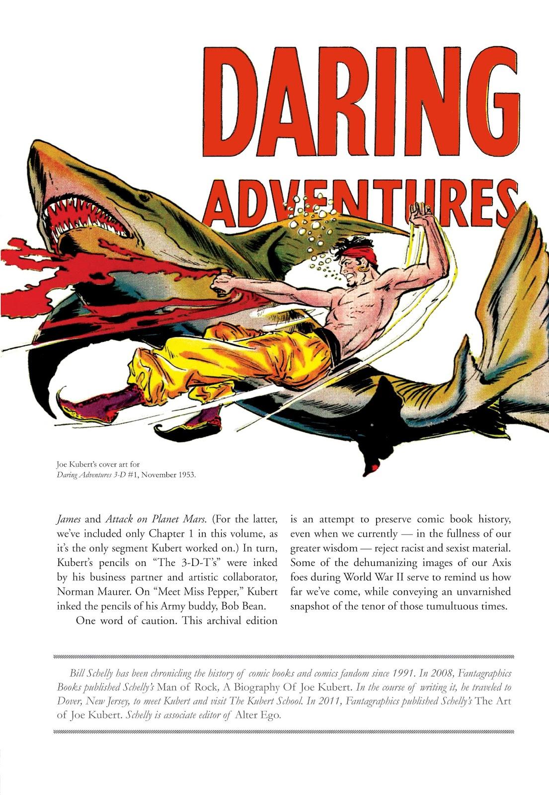 Read online The Joe Kubert Archives comic -  Issue # TPB (Part 1) - 8