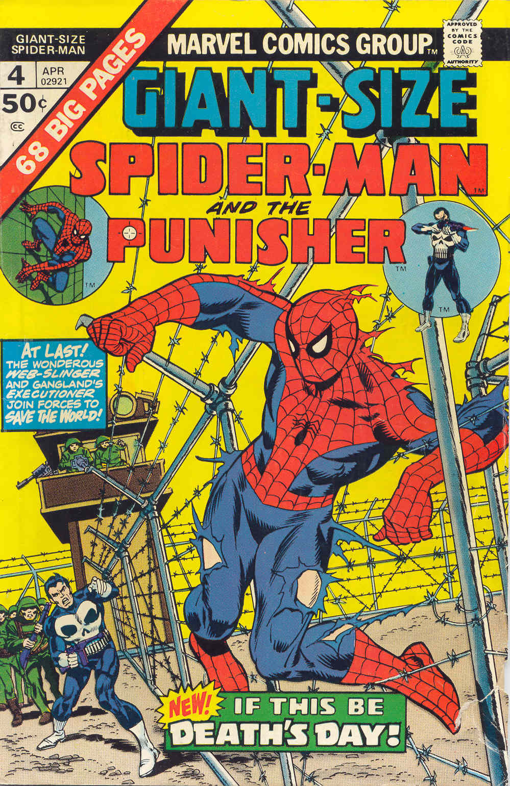 Giant-Size Spider-Man (1974) issue 4 - Page 1